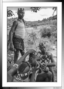 13 28 Pinturas ceremoniales en Yinya Etiopia 2014
