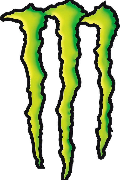 MONSTER CLAWS DECAL