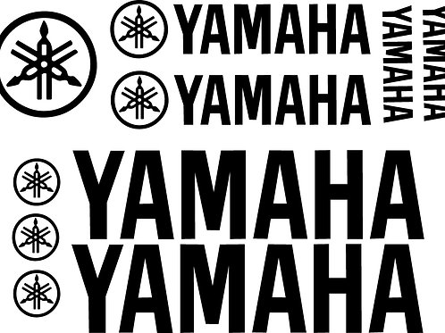 YAMAHA VINYL DECAL KIT