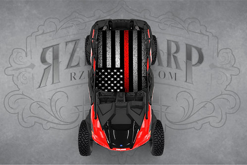 RED LINE FLAG ROOF WRAP