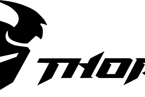 THOR LOGO WITH HELMET DECAL