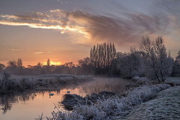 Frosty River, Bury Field
