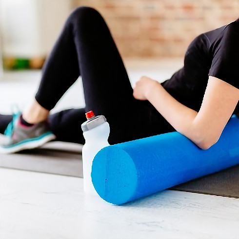 Self Massage with Foam Roller: Techniques for Relaxation and Restoration - 💻 ONLINE