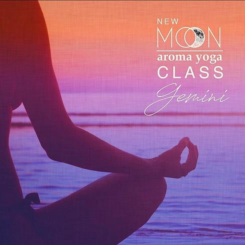 FREE Aroma Yoga® NEW MOON in Gemini Class- 💻 ONLINE