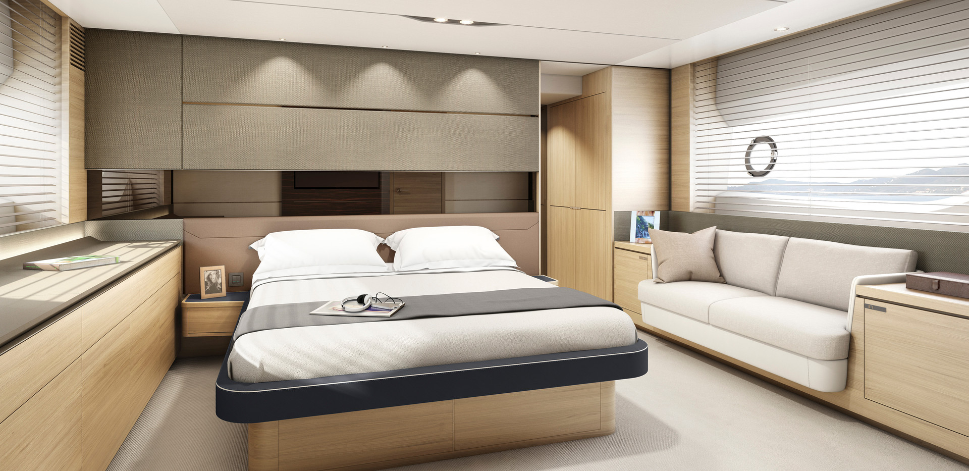 s65-interior-owners-stateroom-light-oak-