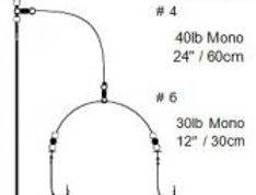 Cox & Rawle Flattie Wishbone Rig 1/0