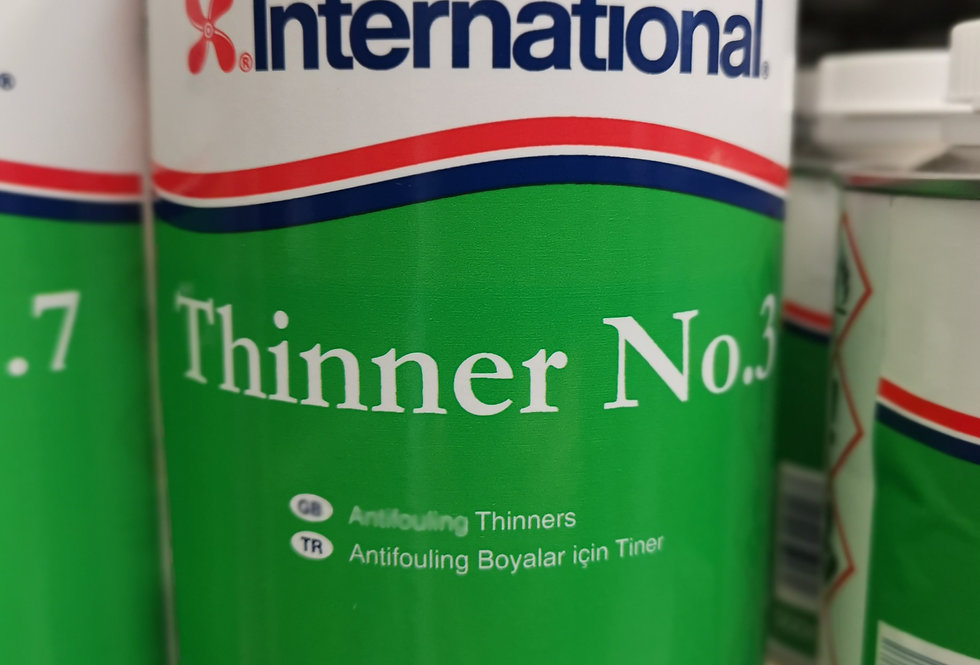 Thinners No. 3  (1 Litre) for Anti-Fouling