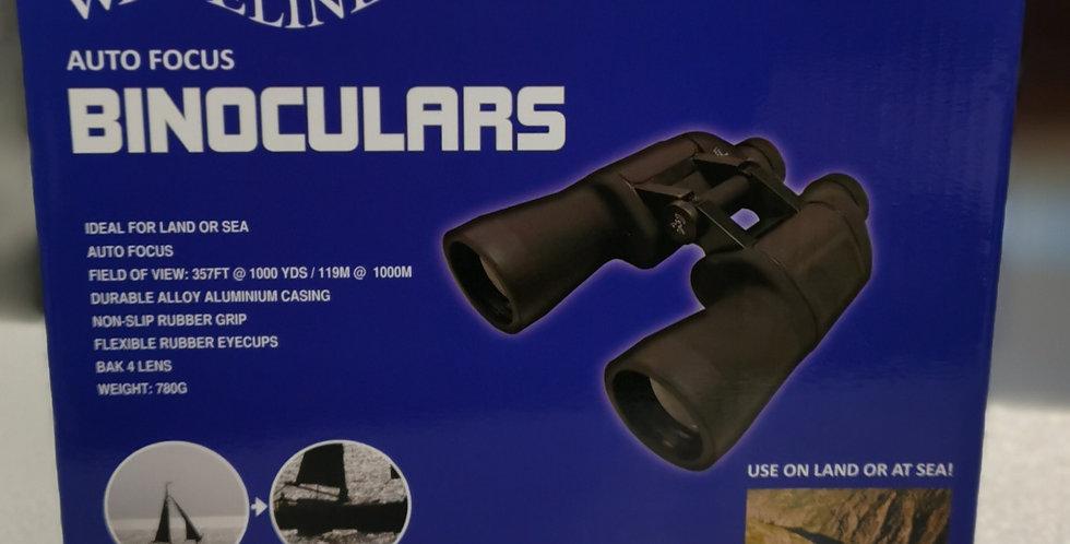 Waveline 7 x 50 Fixed Focus Binoculars (Black)