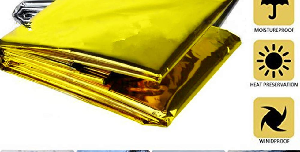 Thermal Blanket (Gold/Silver Reflective)