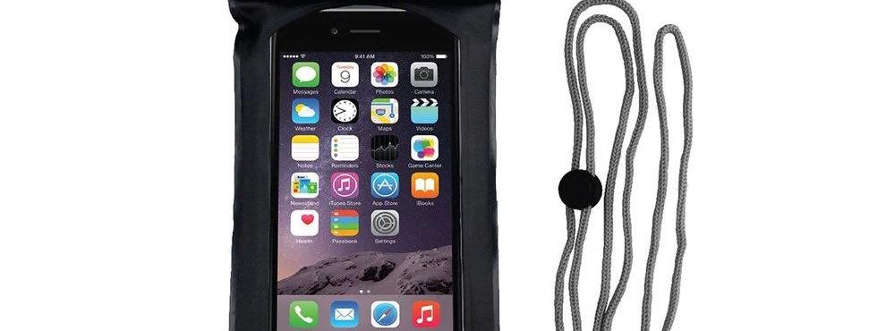 Waterproof Phone Case - Black (Small)