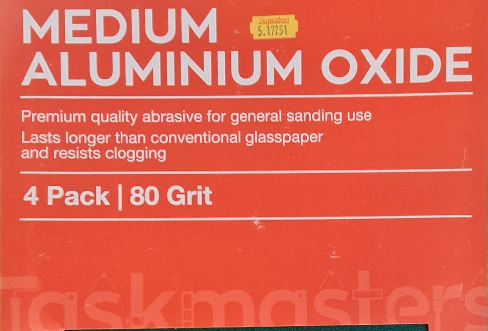 Medium Aluminium Oxide Paper (4 Pack)