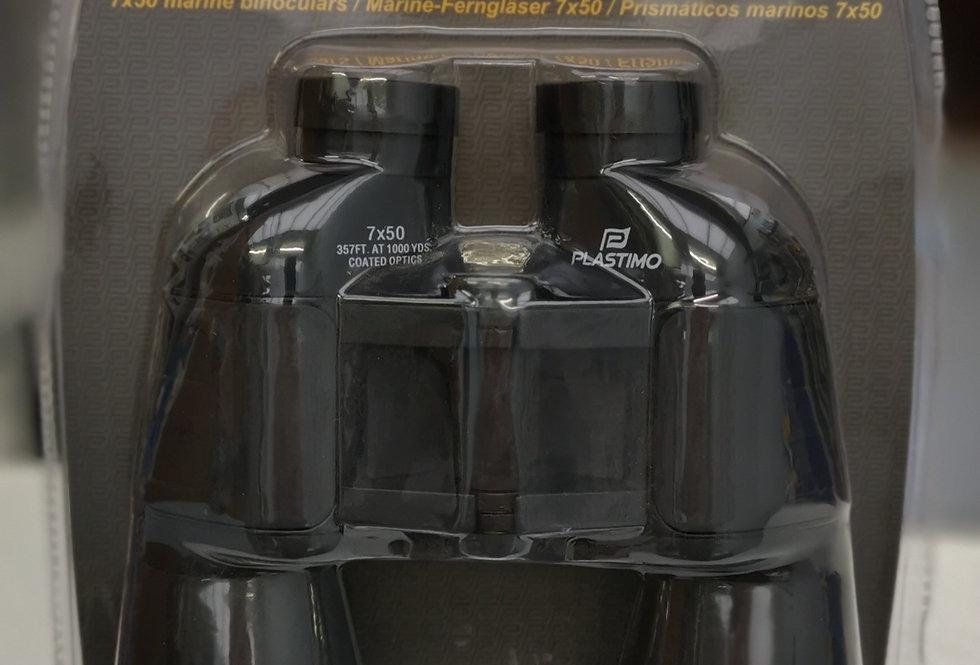 Plastimo 7 x 50 Fixed Focus Binoculars (Black)