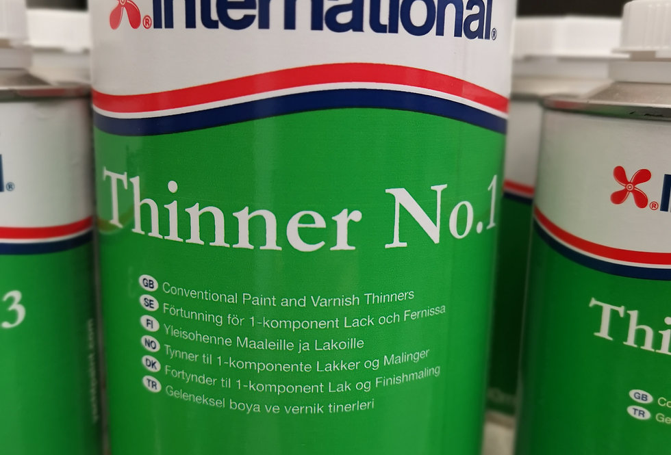 Thinners No. 1  (1Litre) for conventional paint & primer