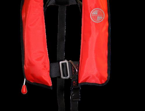 Kru Junior XF Lifejacket - Auto (RED)
