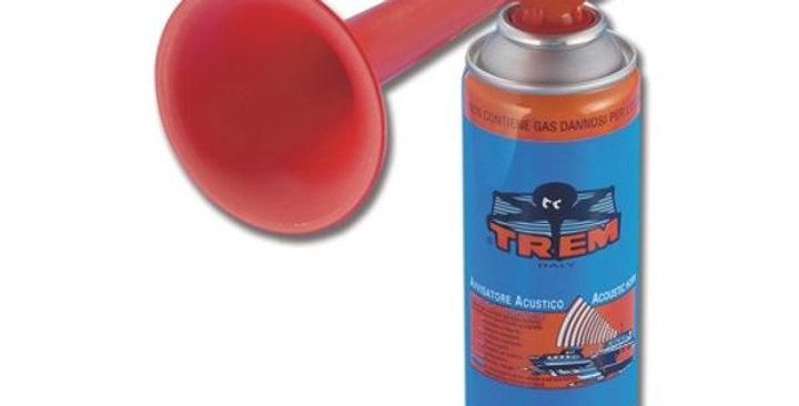 Trem Gas Horn - Fog/Anti-Collision with cylinder
