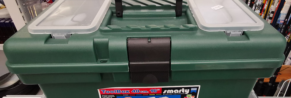 """16"""" Tackle Box with Lid Organiser"""