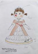 プリンセスペコちゃん レースドール