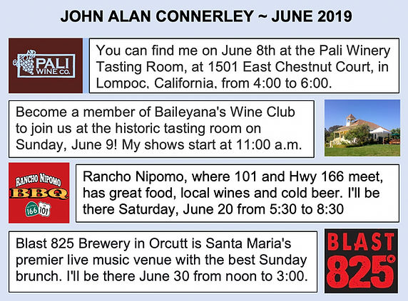 2019 June John Alan Connerley Performand