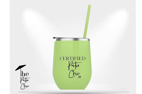 Certified Patio Chic Tumbler