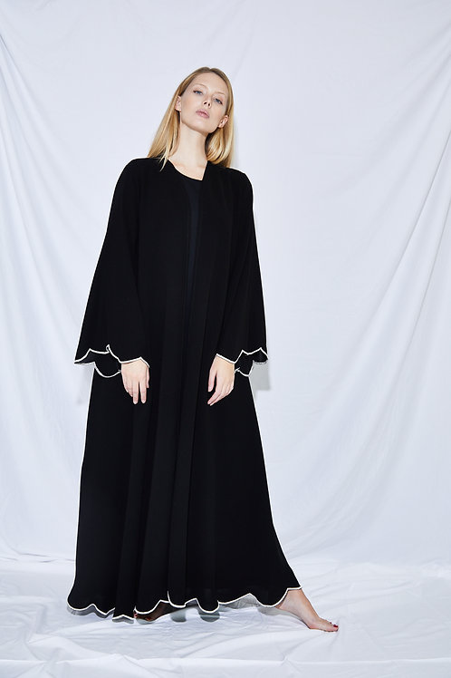 The half-circle hem Abaya