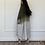 Thumbnail: Nayla, Reversible Ombré linen Abaya