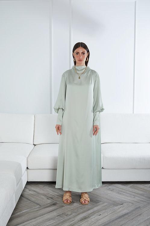 The Ghalia dress in Satin