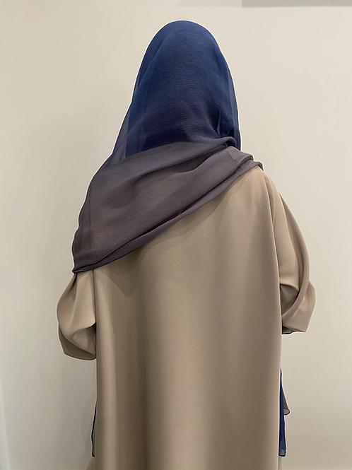 Ombre silk shefon sheila