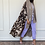 Thumbnail: Brown dye, reversible cotton and shefon Abaya