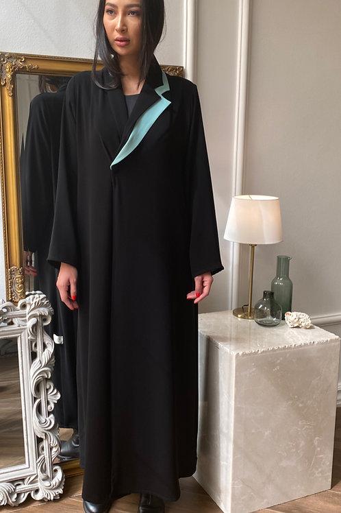 Elaborate jacket abaya