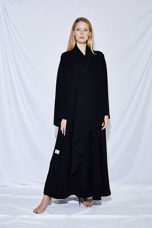 The oversized front collar