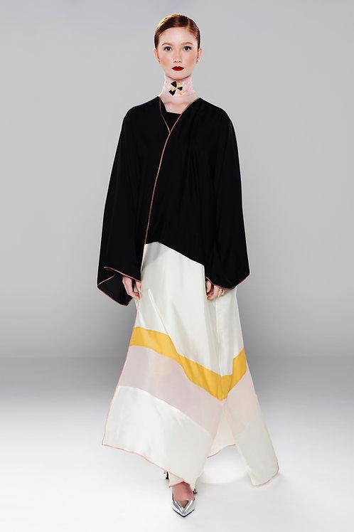 Silk evening Abaya