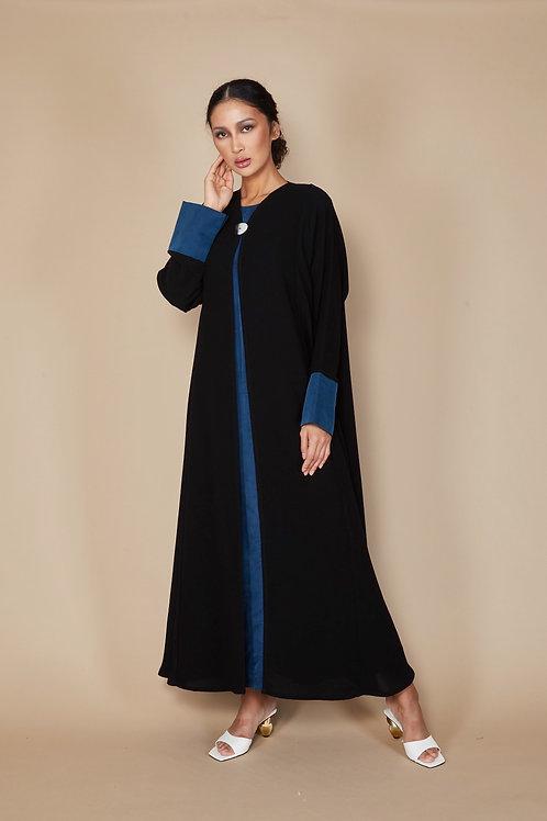 The Blue Abeer abaya