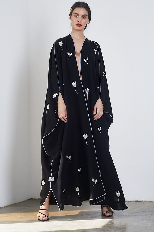 The flowery bisht