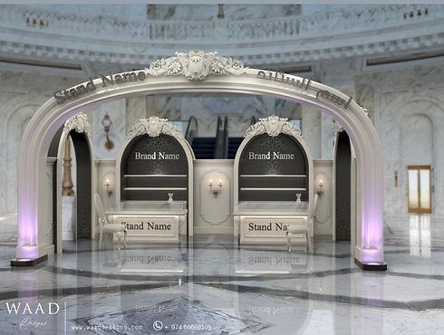 Interior design project for al Hazam mall Qatar