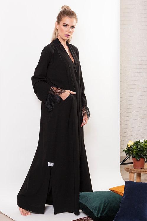 Jacket Abaya with lace