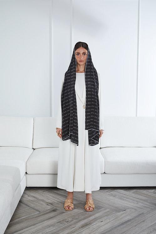 Monogram Silk Sheilah