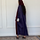Thumbnail: Noof, reversible linen and shefon Abaya