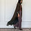 Thumbnail: Maria, Reversible linen Abaya in army green
