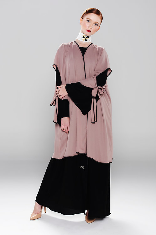 Double layered Abaya