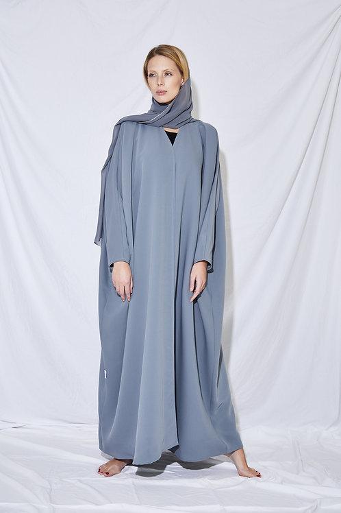 The Full Grey Abaya