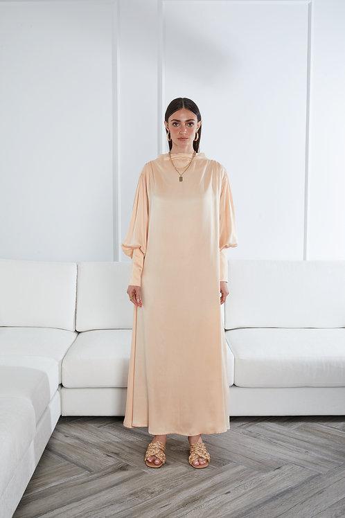 The Ghalia dress in silk