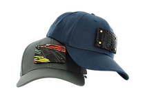 Spice your cap Gunmetal Grey and Midnight Navy Blue