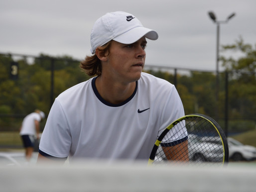 BRANDON JACKSON USES HIS POWER TO EXCEL FOR DELTA TENNIS