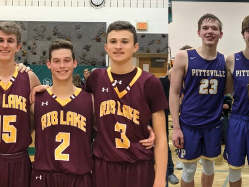 PITTSVILLE TO FACE RIB LAKE IN BOYS BASKETBALL SECTIONAL THURSDAY