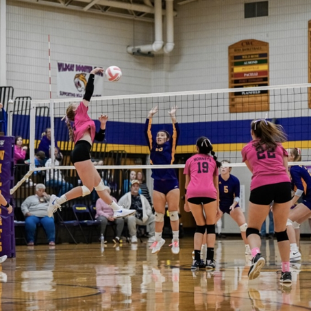 ROSHOLT VOLLEYBALL DEFEATS WILD ROSE TO EARN FIRST CONFERENCE WIN