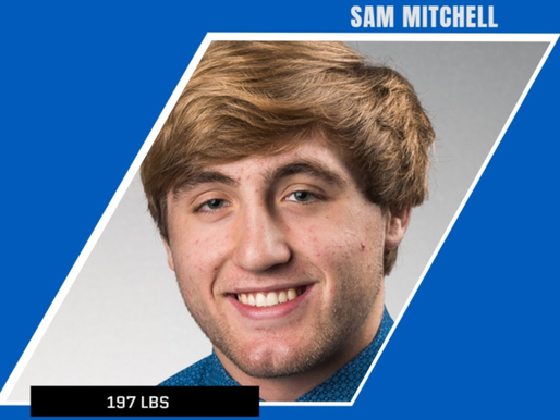 MITCHELL NAMED TOP REDSHIRT FRESHMAN BY BUFFALO WRESTLING
