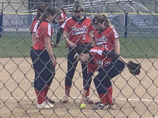 PACELLI SHUTS OUT WILD ROSE 13-0 IN FIVE INNINGS