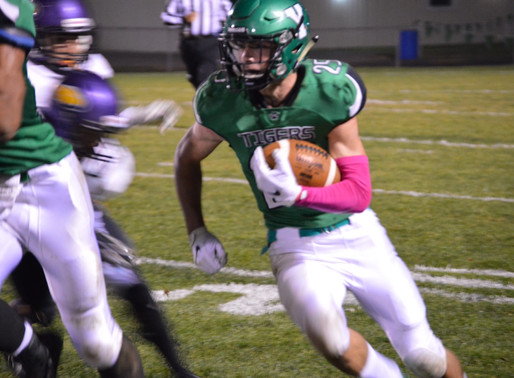 YORKTOWN'S SEASON ENDS AS GUERIN DICTATES PACE