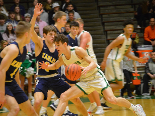 DELTA HOLDS OFF YORKTOWN TO ADVANCE