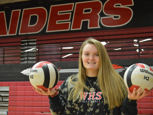SEASON ENDS PREMATURELY FOR WAPAHANI SENIOR, BUT SHE STILL LEADS VOLLEYBALL TEAM